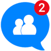 Logo Messenger for Messages, Text and Video Chat